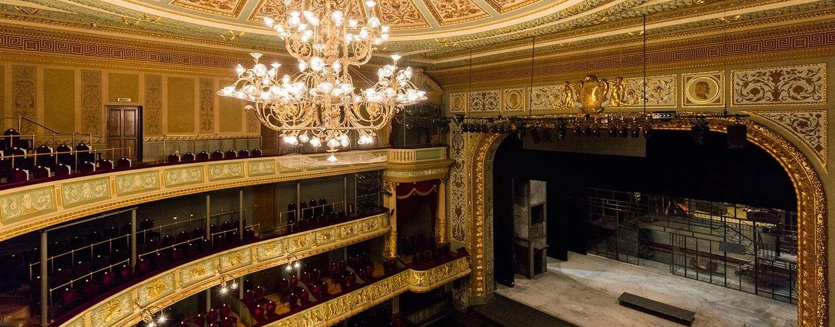 interno dell'Opera Nazionale Lettone