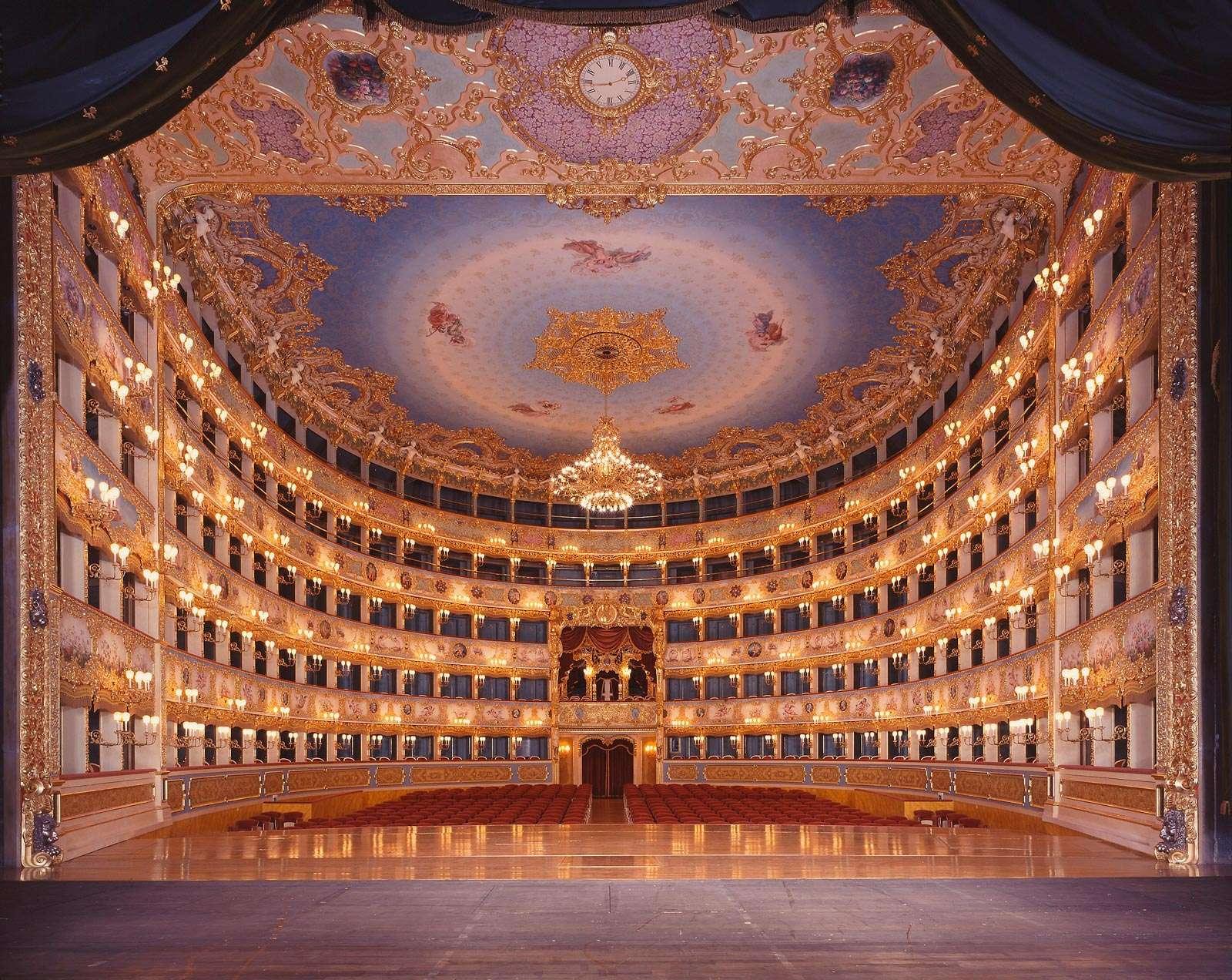 La Fenice di Venezia vista dal palcoscenico