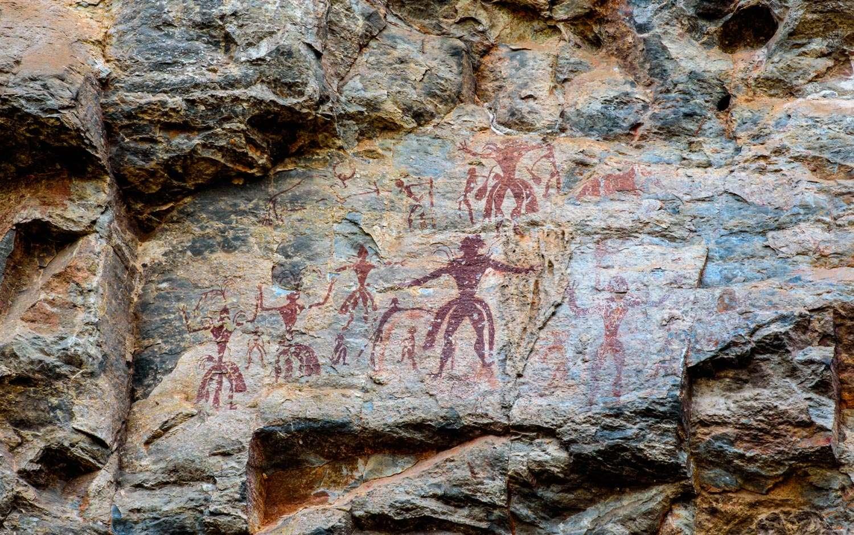 pittura rupestre preistorica, Thailandia