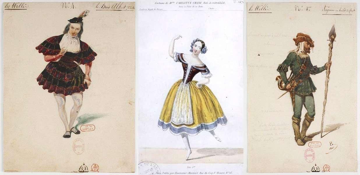 disegni dei costumi