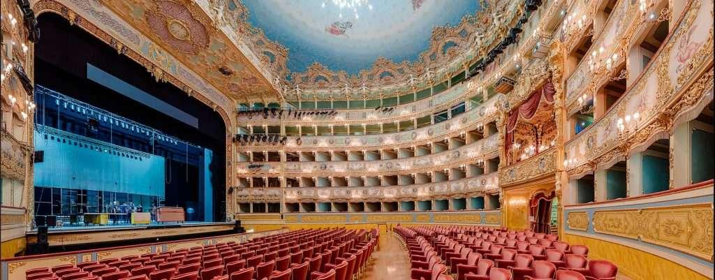 La Fenice di Venezia, platea e palco