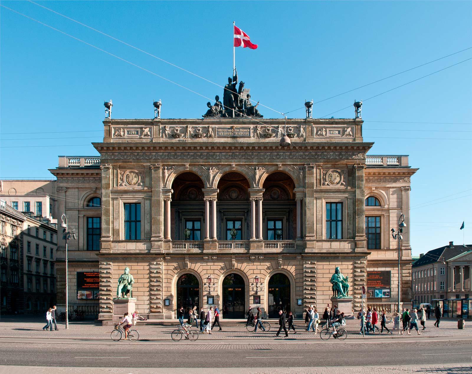 facciata del Teatro Reale Danese