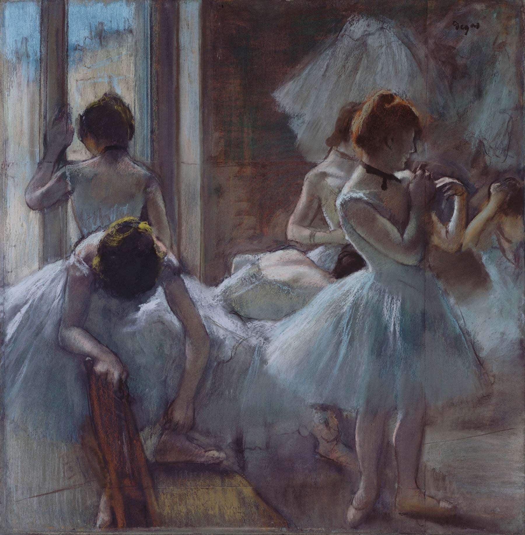 Ballerine dipinto del Romanticismo