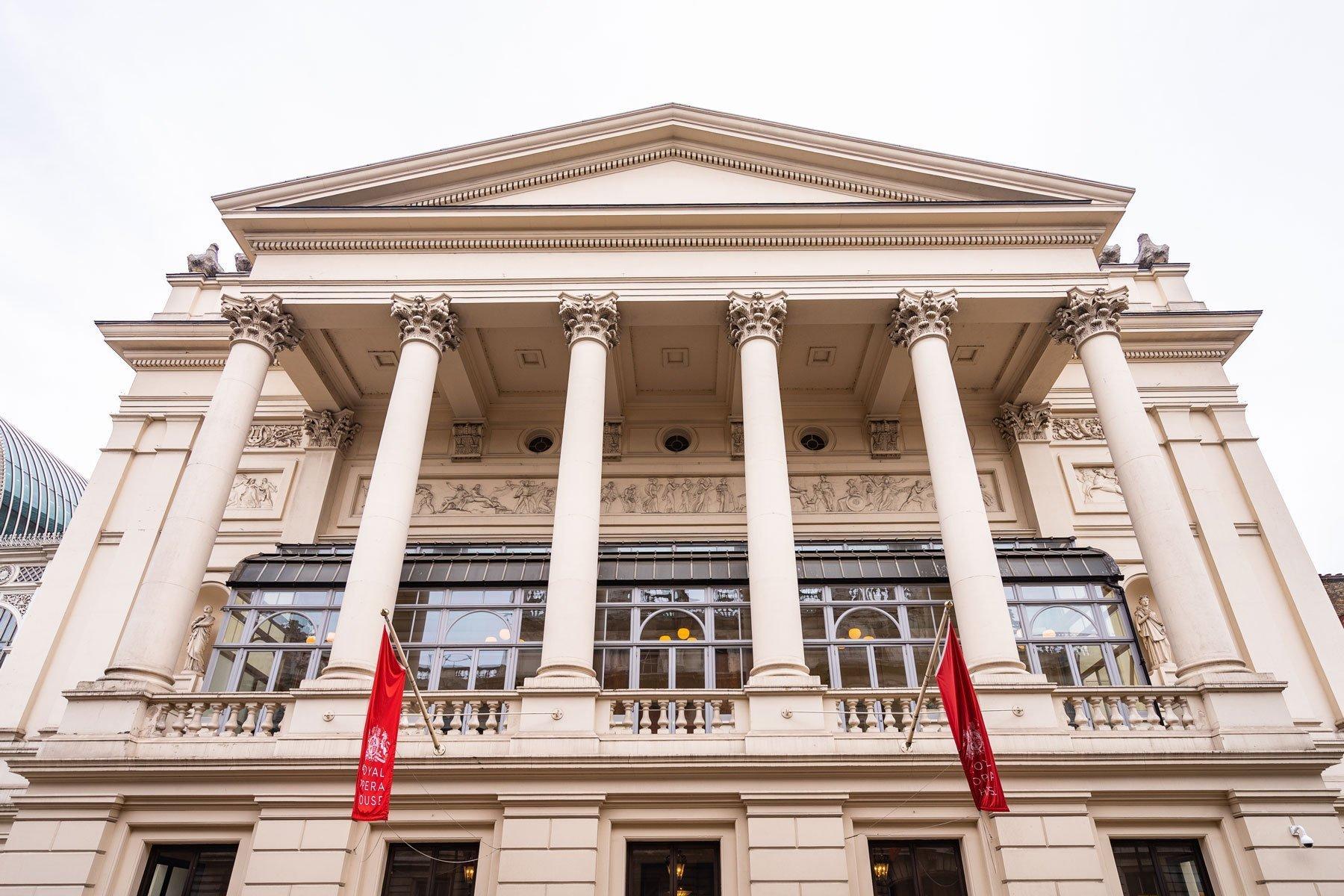 Facciata Royal Opera House