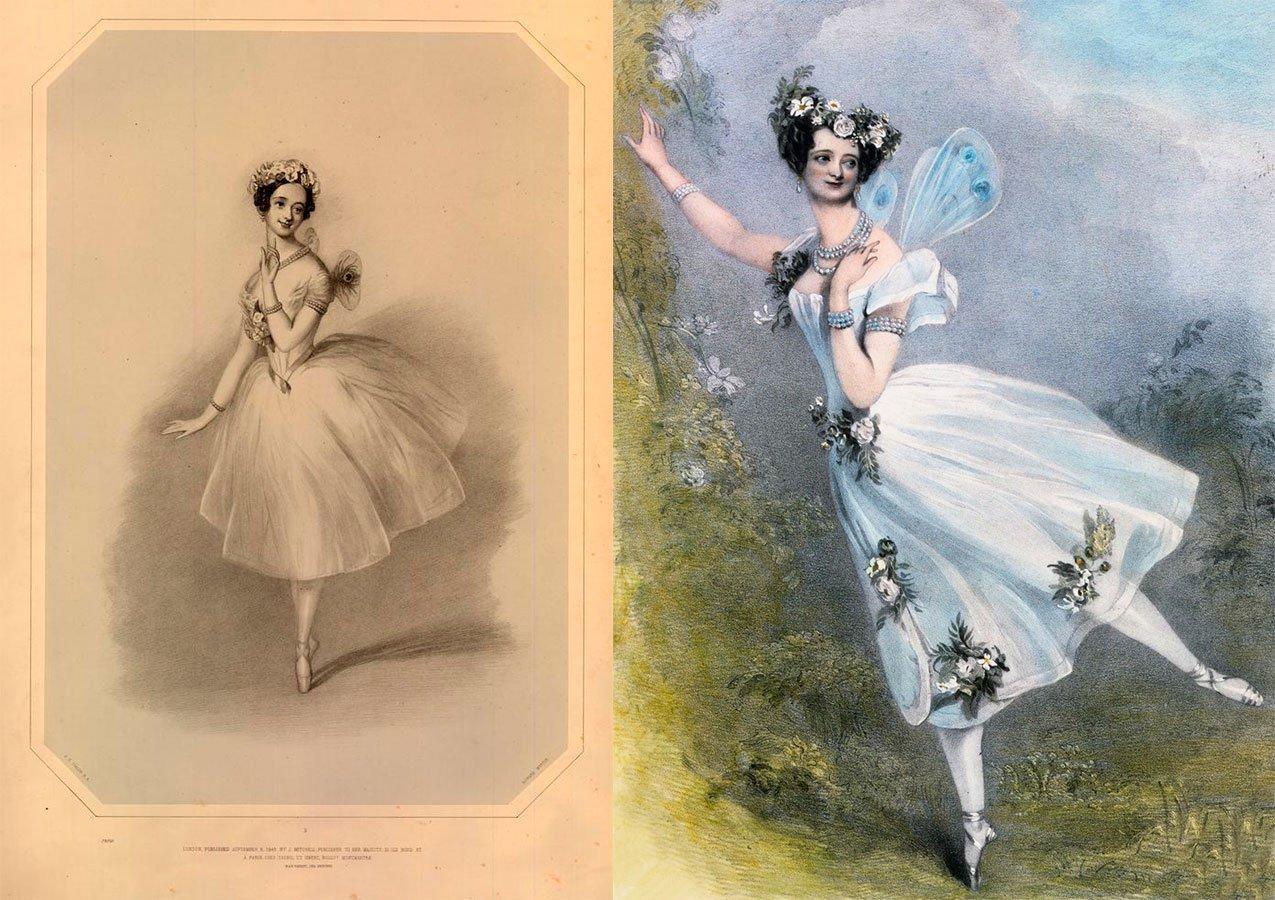 Illustrazioni del Romanticismo con La Sylphide