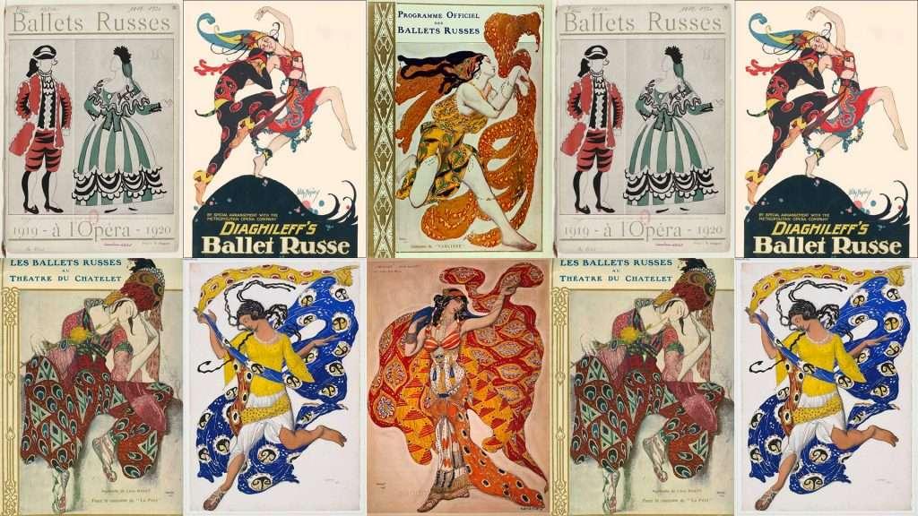 locandine Ballets Russes