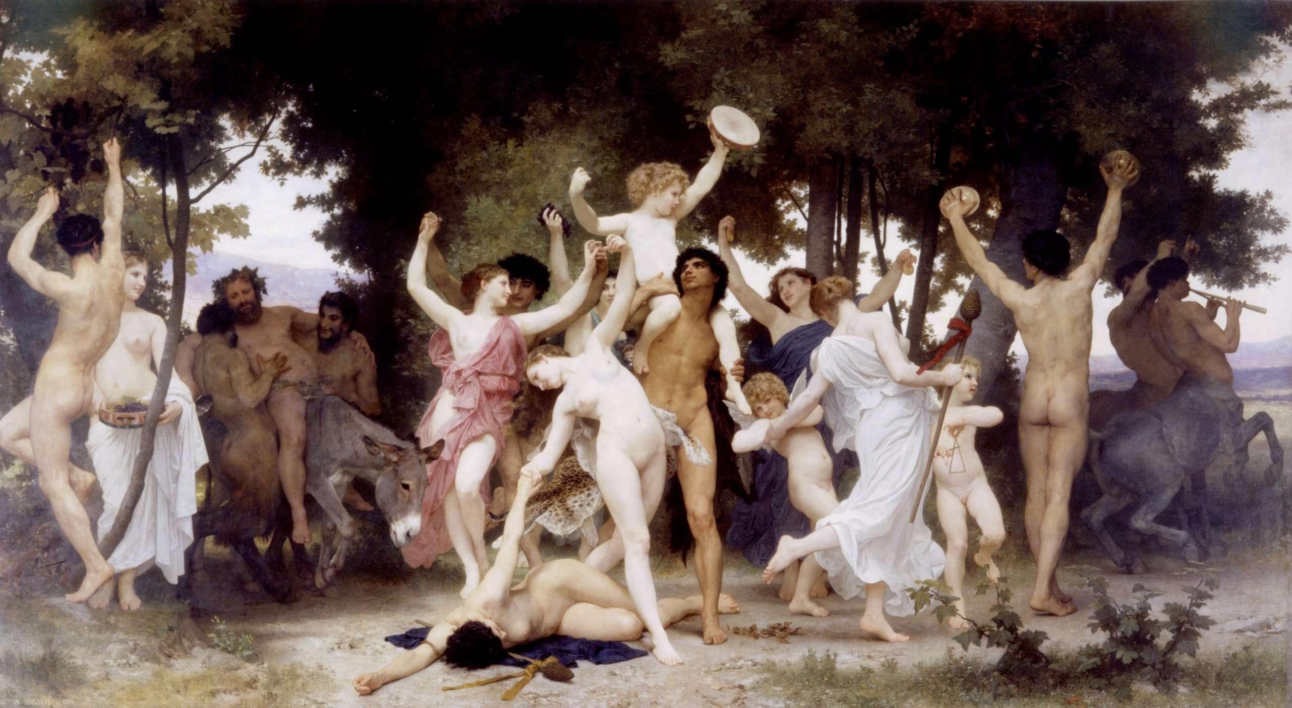 Ballo in onore di Bacco