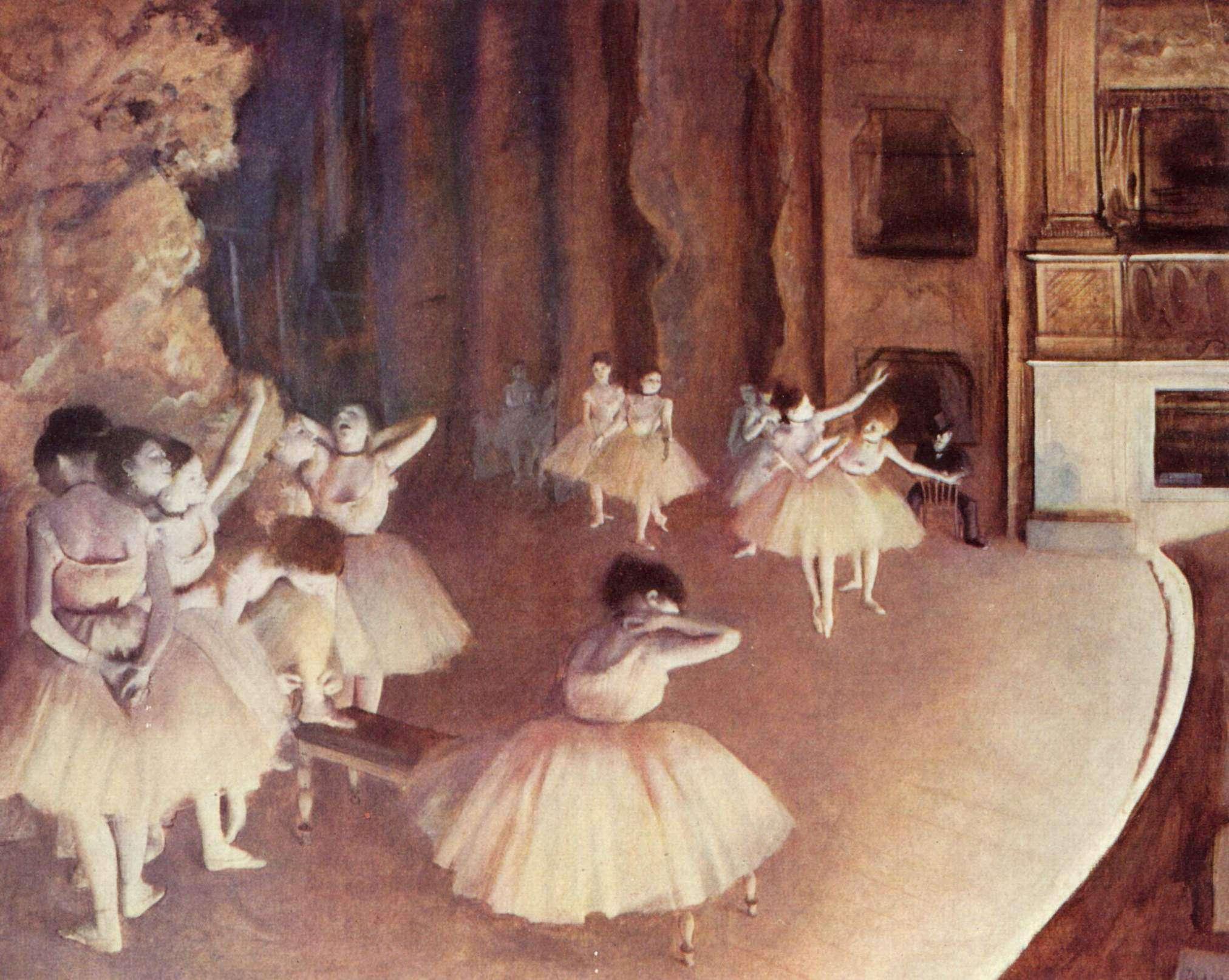 Ballerine in scena