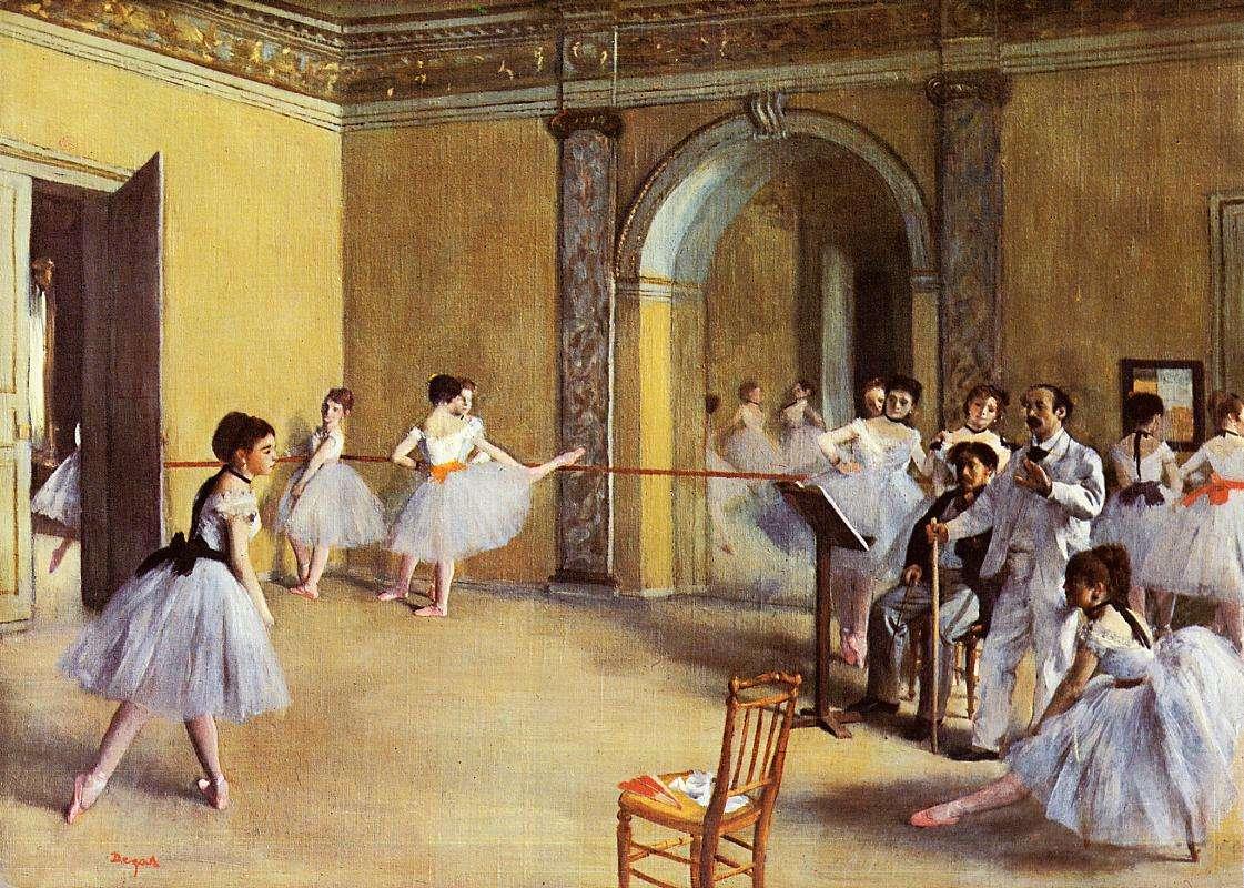 Dipinto balerine