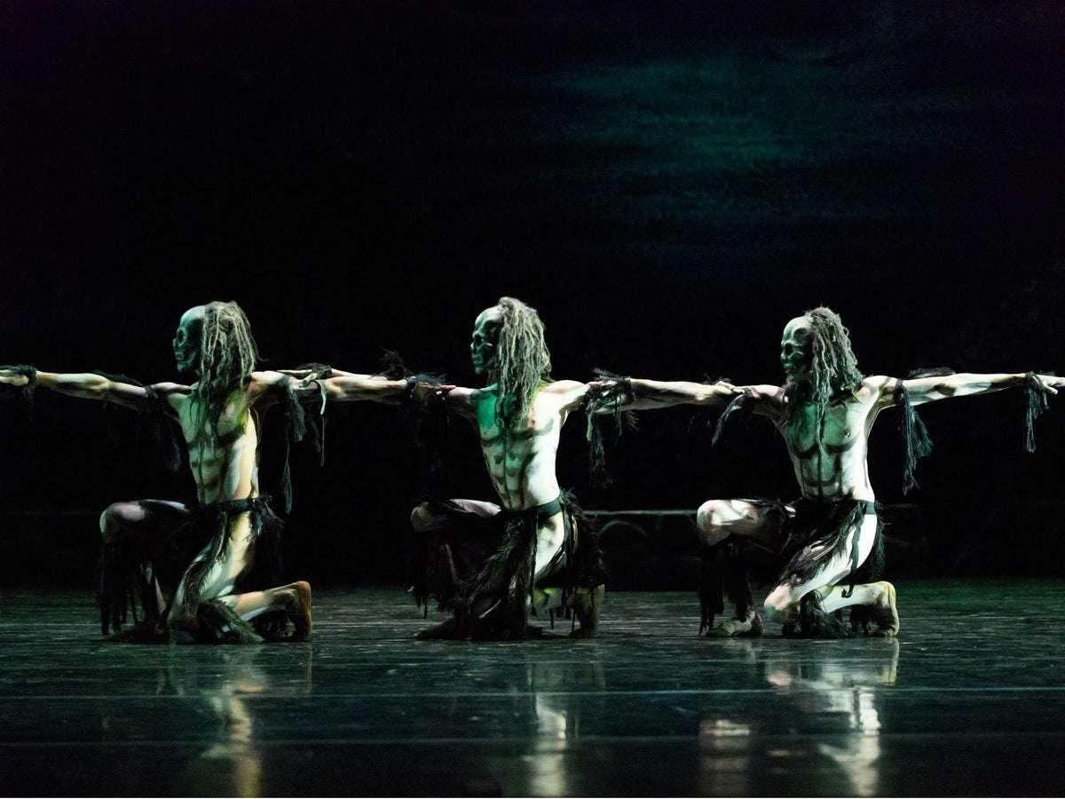 Danzatori in Ghost Dances