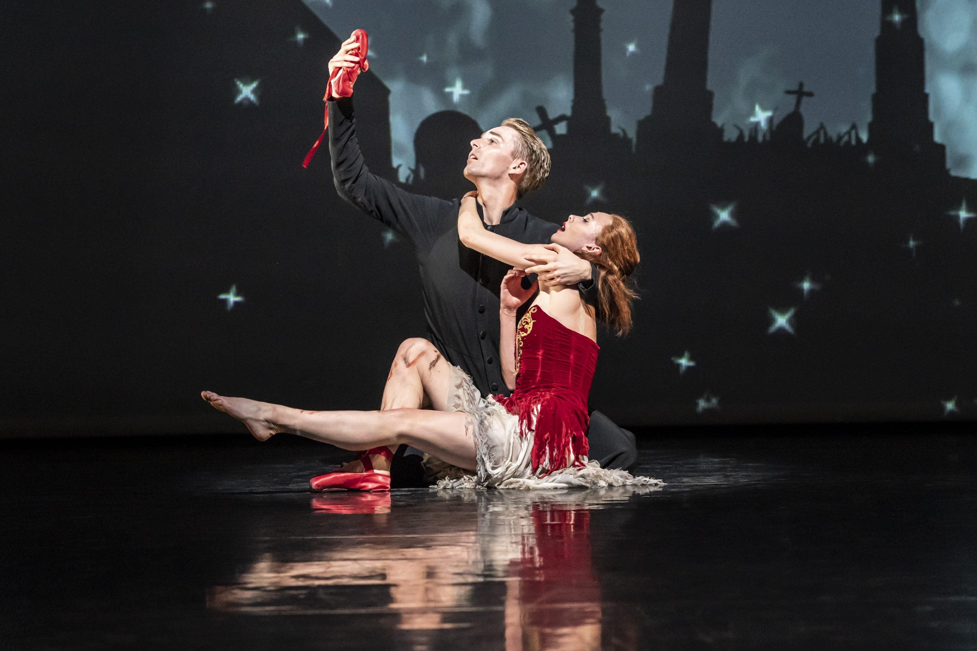 Balletto Scarpette Rosse