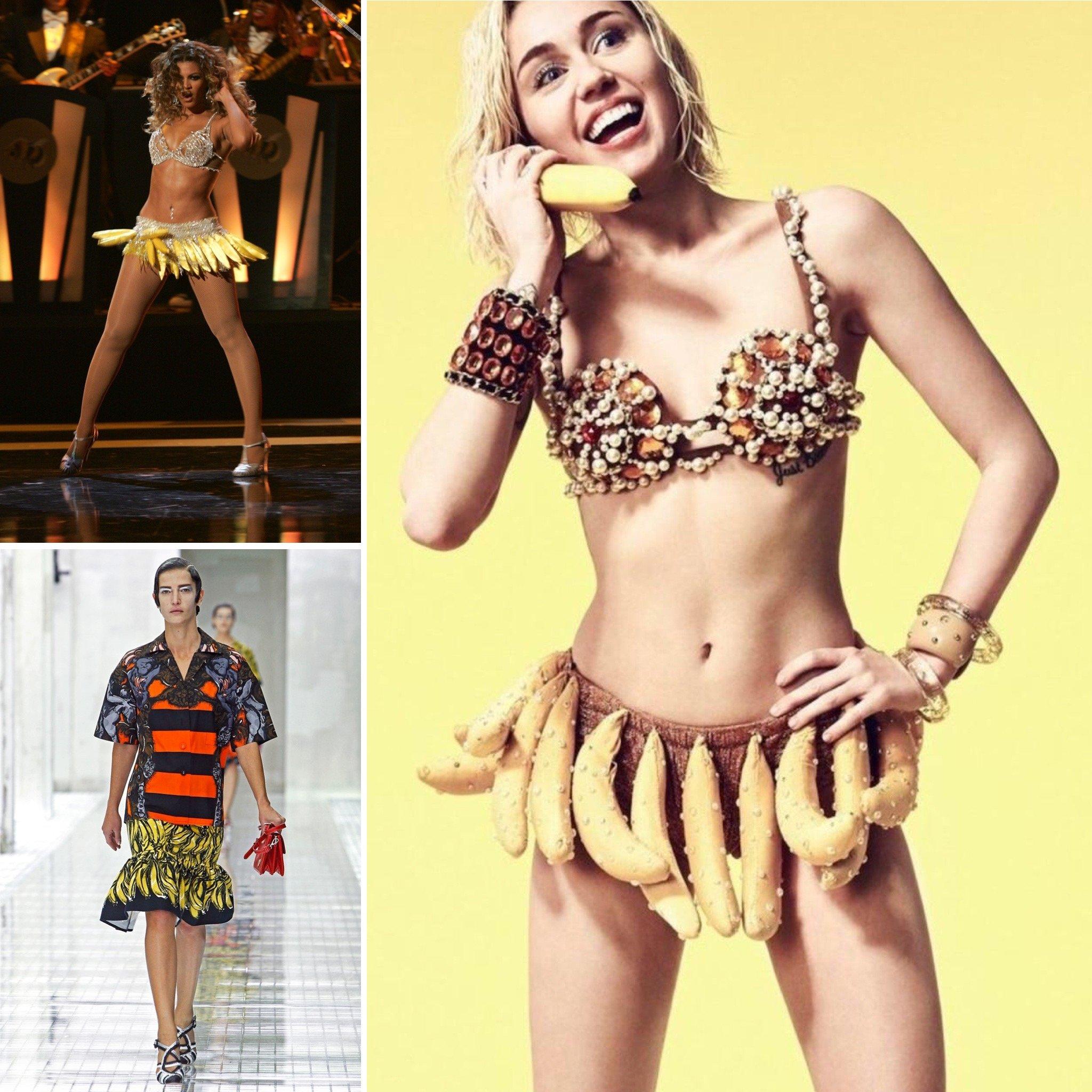 look ispirazione banane