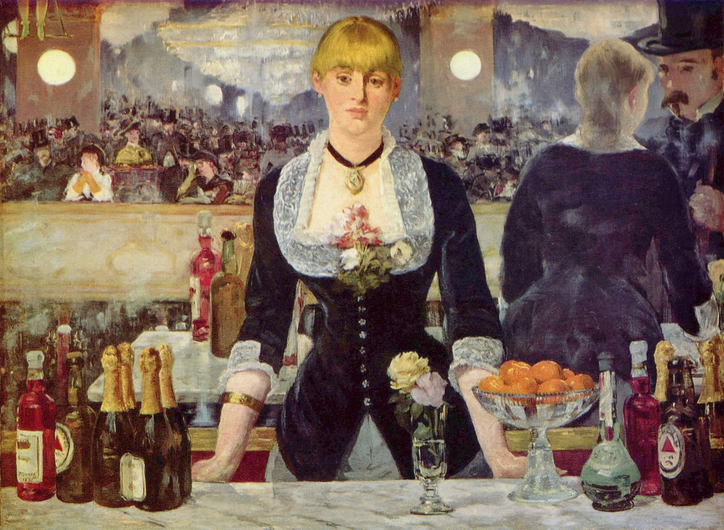 Il bar delle Folies Bergère, Edouard Manet