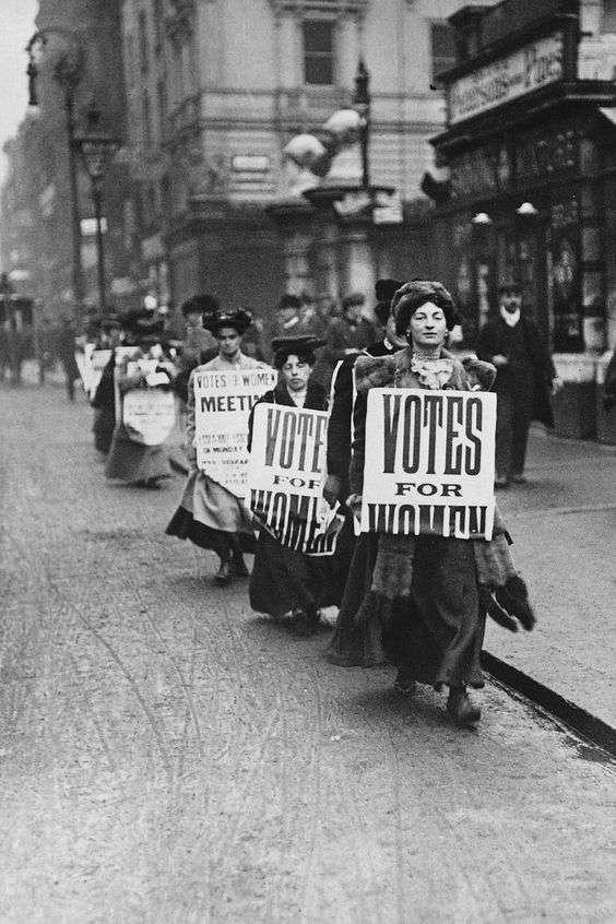 Le suffragette e l'emancipazione femminile