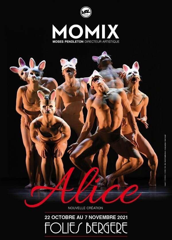 Locandina spettacolo Alice