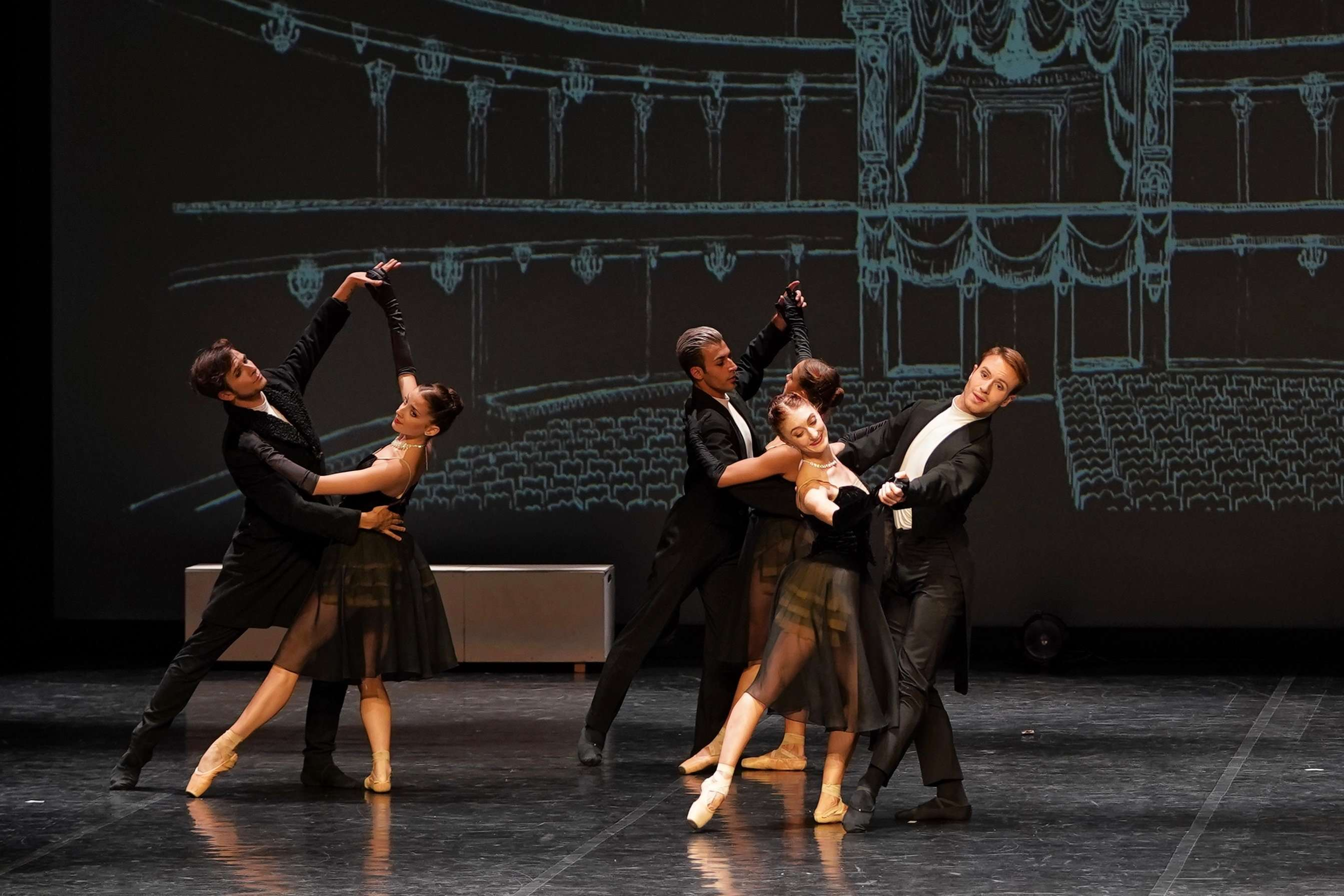 Immagine dal Balletto Anna Karenina