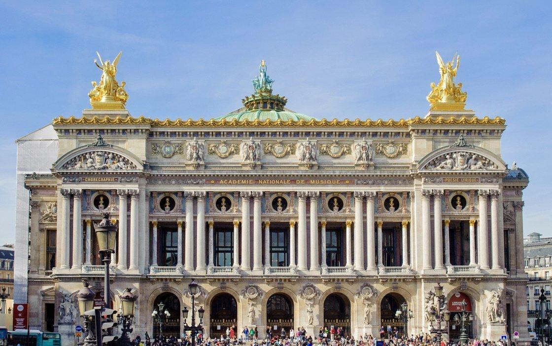 Facciata Opéra Garnier