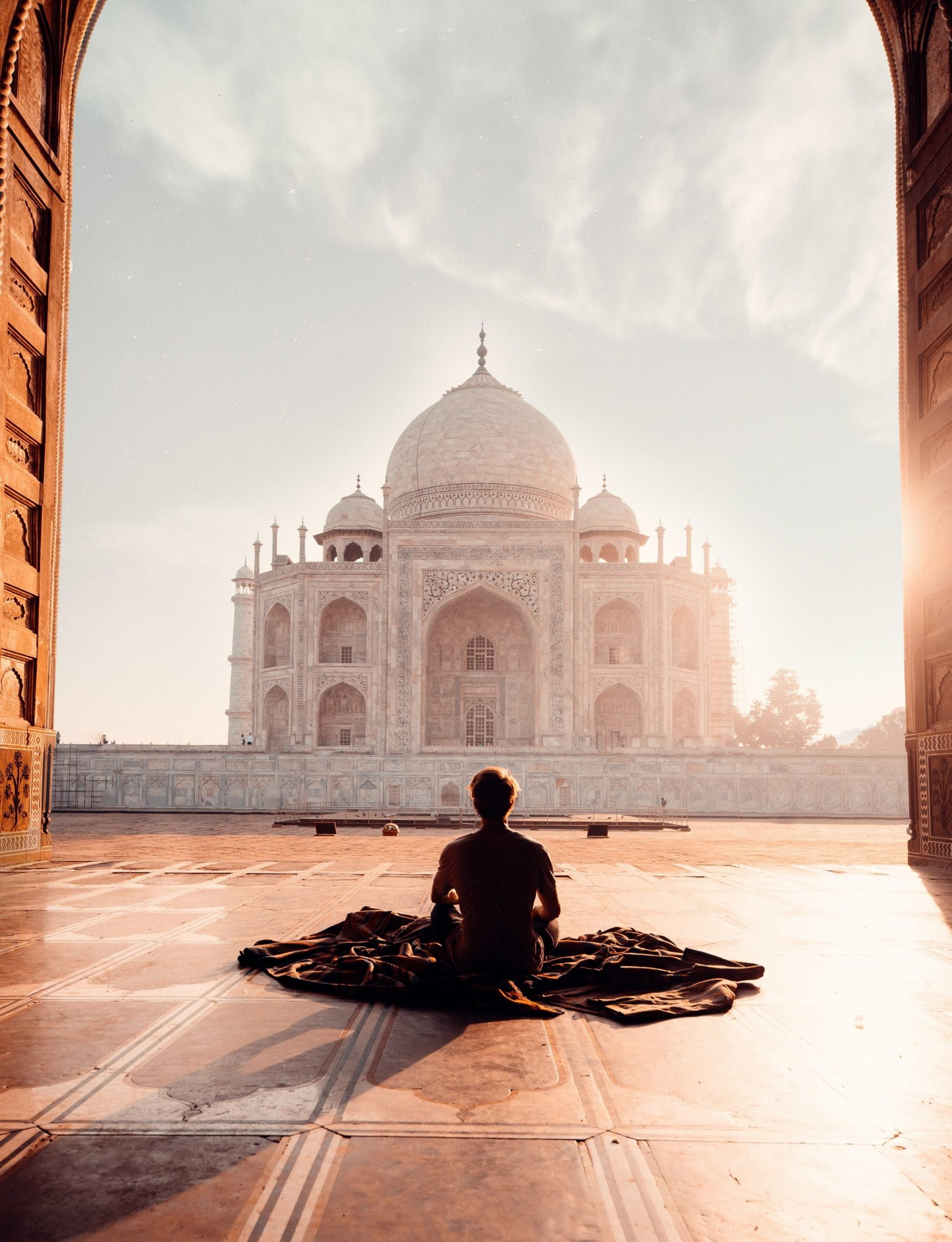 uomo che medita