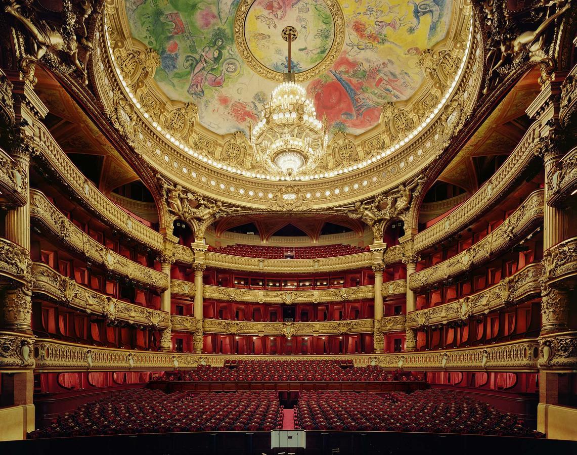 Palais Garnier e Marc Chagall