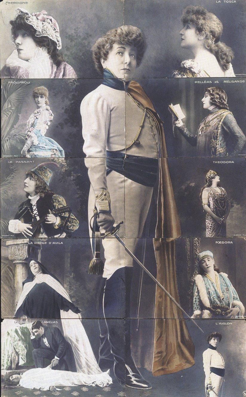 Sarah Bernhardt en travesti