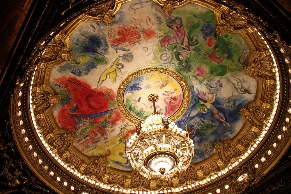 soffitto Marc Chagall