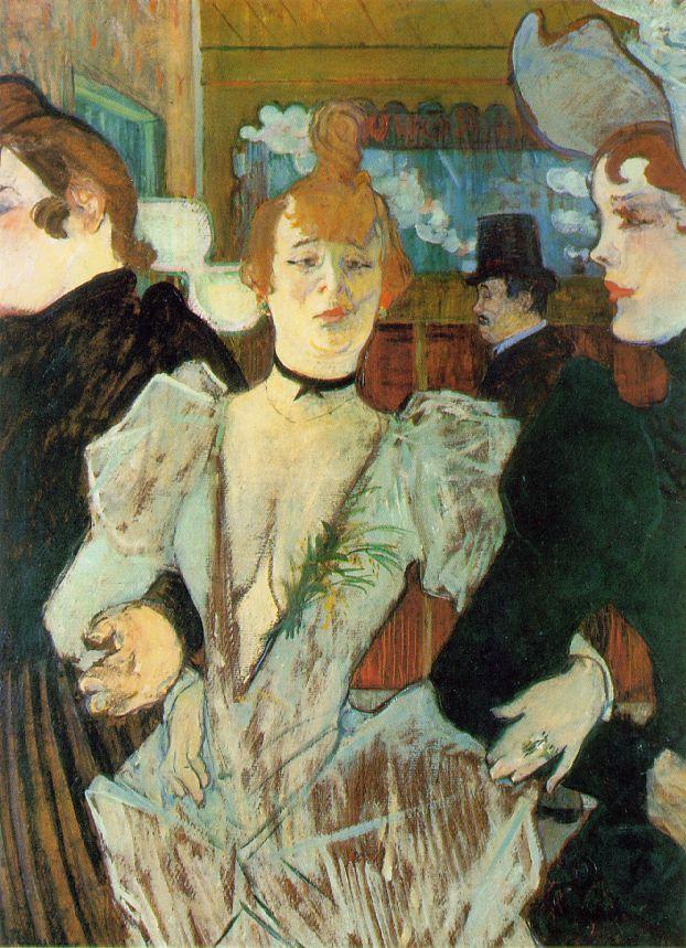 La Goulue al Moulin Rouge